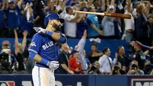 Jose Bautista bat flip, 2015 ALDS (MLB.COM)