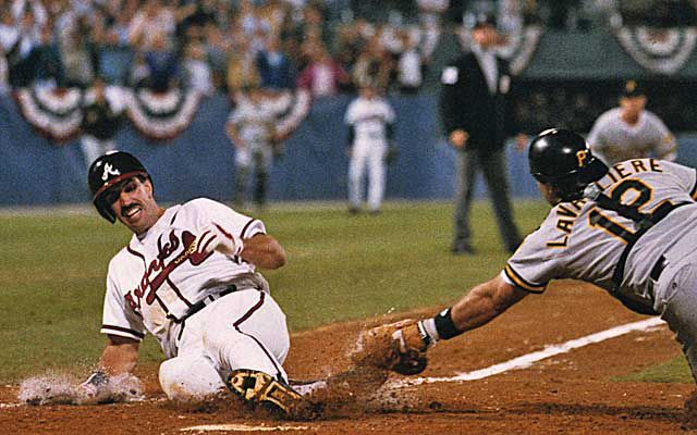 Sid Bream slides into home plate to win Game 7 of the 1992 NLCS (MLB.COM)