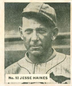Jesse Haines (TRADING CARD DB)