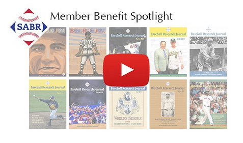 Member Benefit Spotlight: Baseball Research Journal and The National Pastime