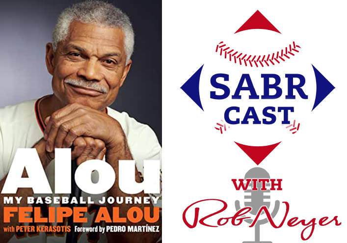 SABRcast #106: Felipe Alou and Peter Kerasotis