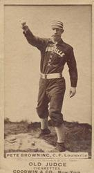 Pete Browning (TRADING CARD DB)