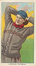 Lefty Leifield (TRADING CARD DB)