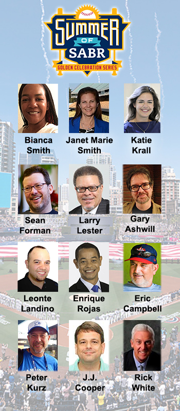 Summer of SABR: Featured Speakers