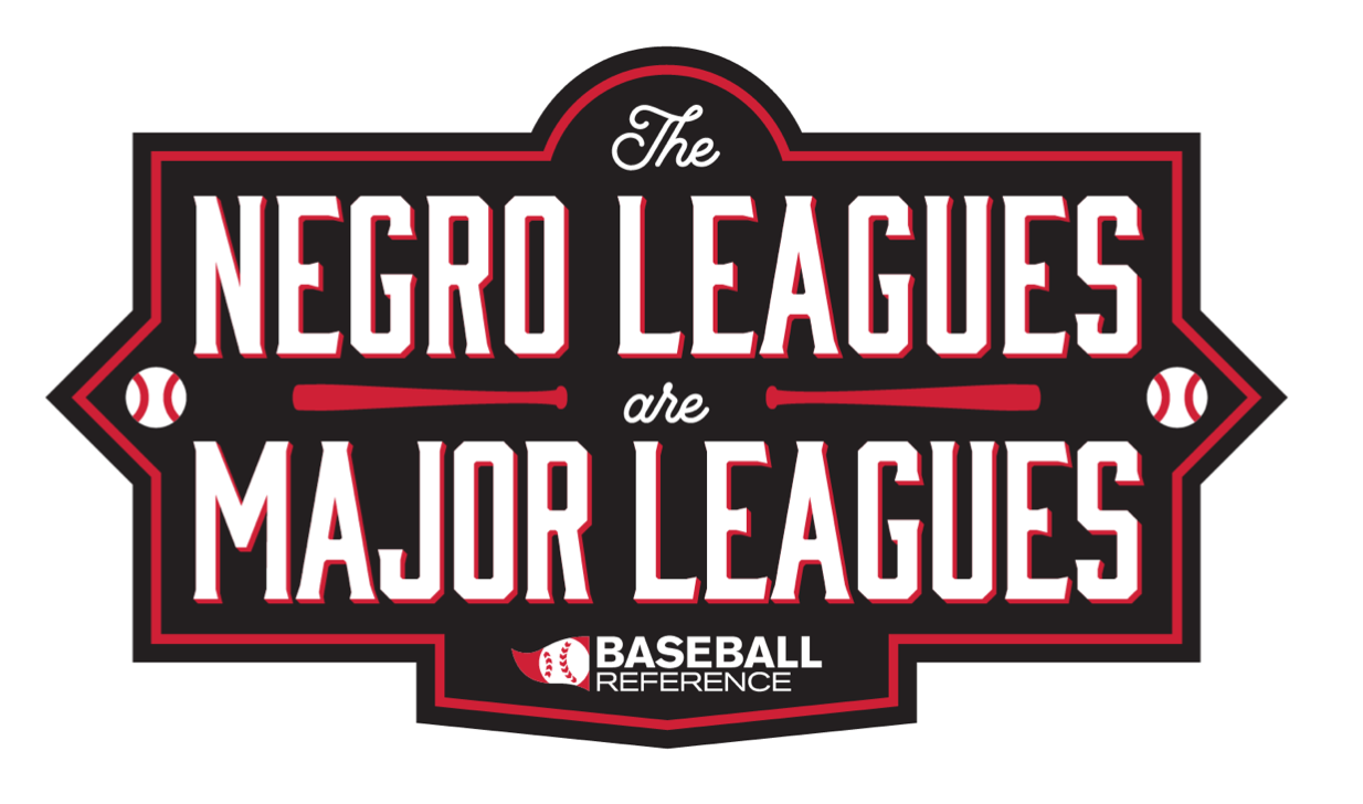 Baseball-Reference.com: Negro Leagues Are Major Leagues logo