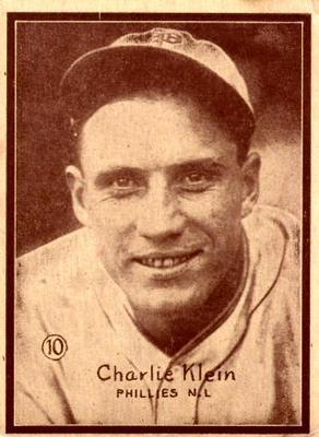 Chuck Klein (TRADING CARD DB)