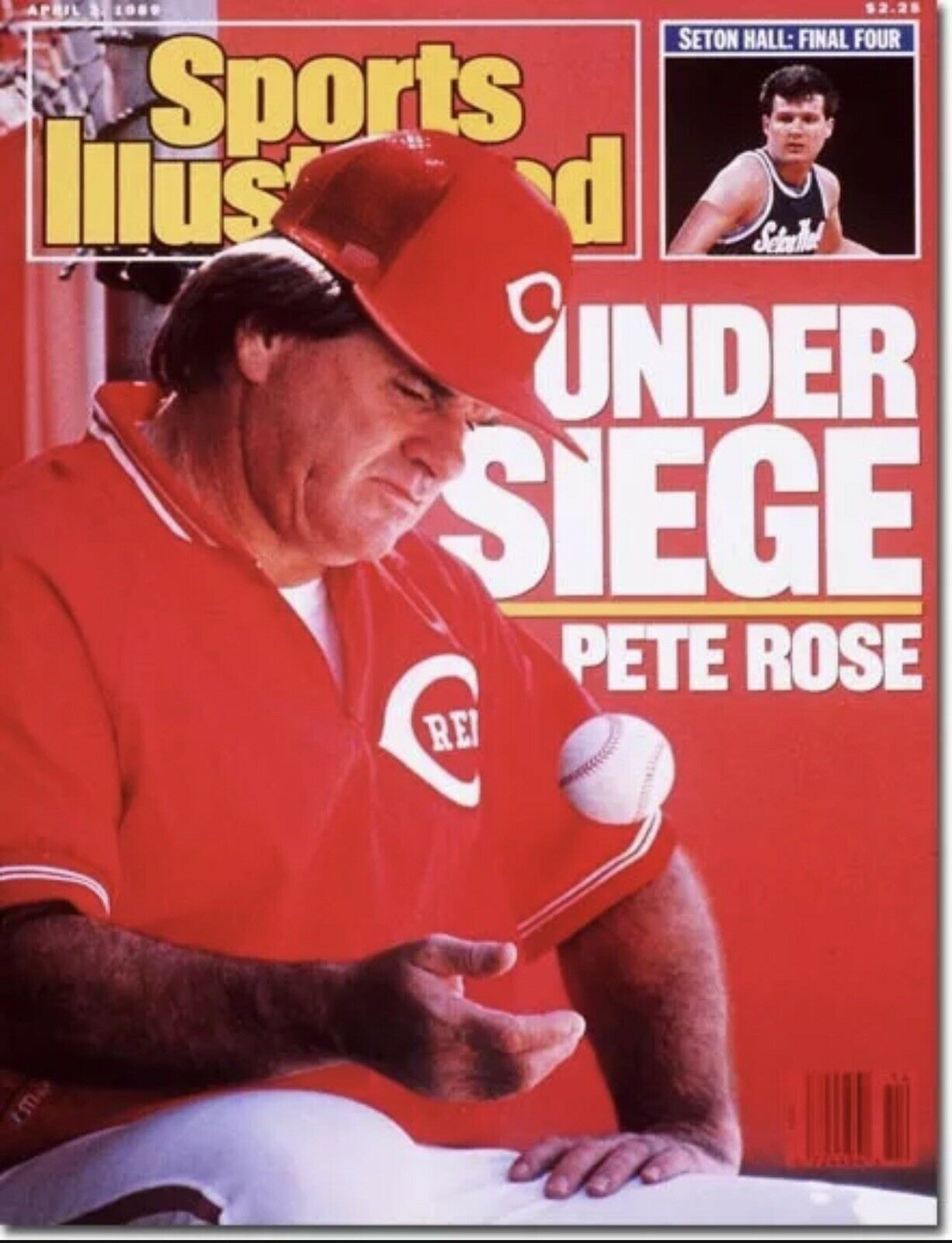 Pete Rose on Sports Illustrated cover (SICOVERS.COM)