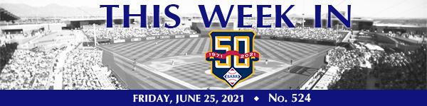 This Week in SABR: June 25, 2021