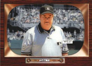 Umpire Joe West (THE TOPPS COMPANY)