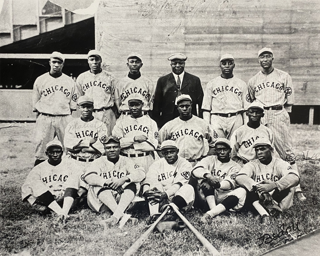 1921 Chicago American Giants (SABR-RUCKER ARCHIVE)