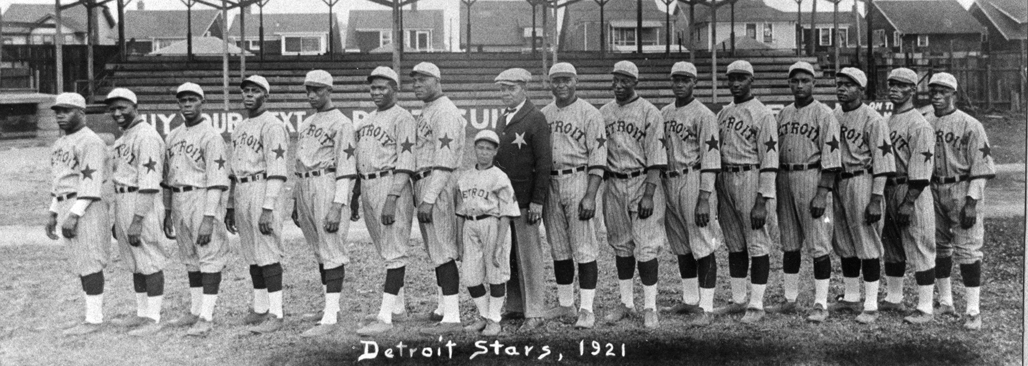 1921 Detroit Stars of the Negro National League (SABR-RUCKER ARCHIVE)
