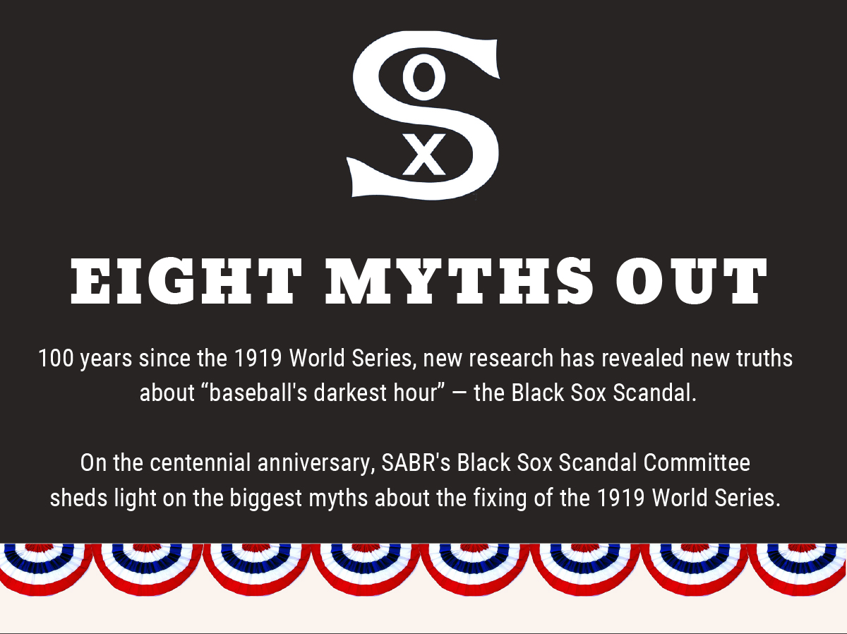 SABR's Eight Myths Out project