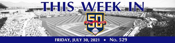 This Week in SABR: July 30, 2021