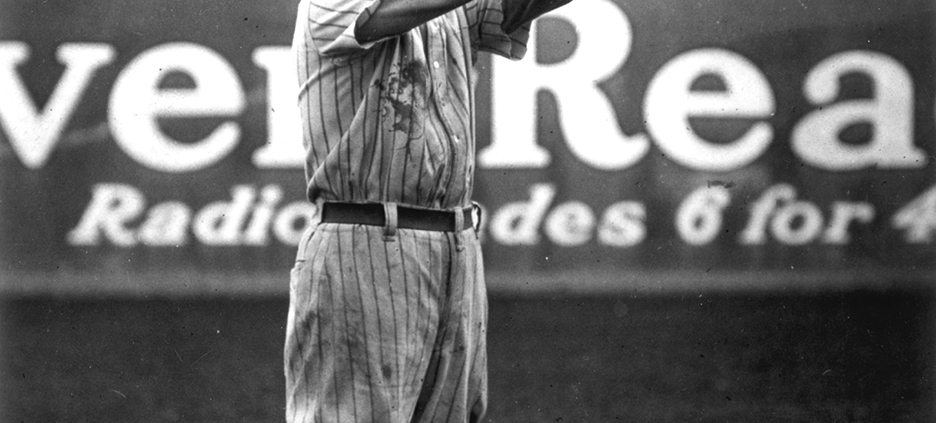 Ross Youngs, circa 1921 (SABR-RUCKER ARCHIVE)