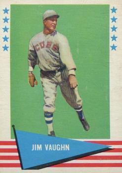 Hippo Vaughn (TRADING CARD DB)