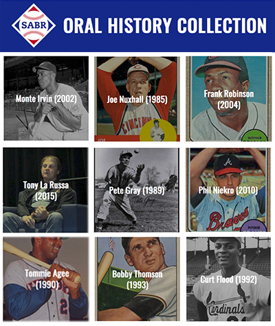 SABR Oral History Collection