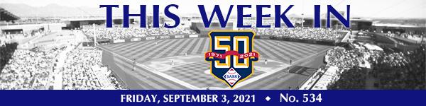 This Week in SABR: September 3, 2021