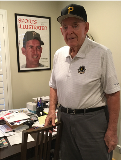 Former Pirates outfielder Frank Thomas was interviewed by Steve Jeremko for the SABR Oral History Collection on October 11, 2019